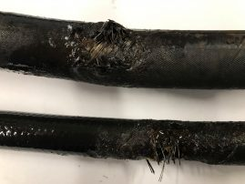 damaged-hydraulic-hose