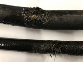 damaged-hydraulic-hose